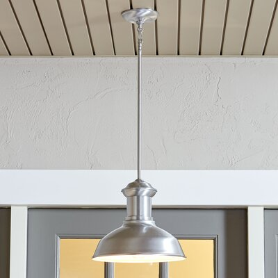Winside Outdoor Pendant Color: Satin Aluminum