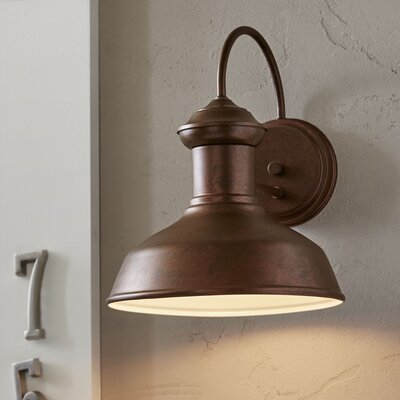 Winside Outdoor Sconce Color: Weathered Copper