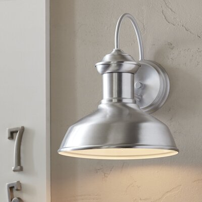 Winside Outdoor Sconce Color: Satin Aluminum