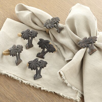 Swaying Palms Napkin Rings