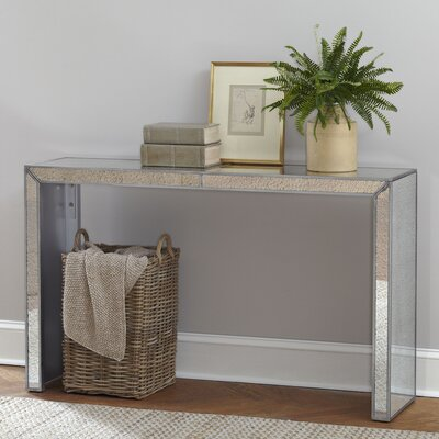 Elliott Mirrored Console Table