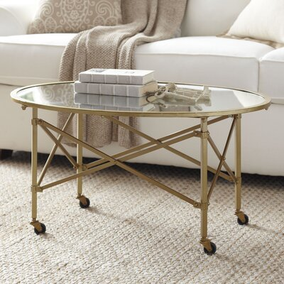 Minot Coffee Table Color: Gold