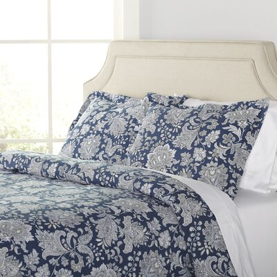 Marilyn Duvet Set Size: Full / Queen, Color: Blue