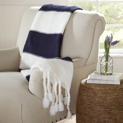Heather Striped Throw