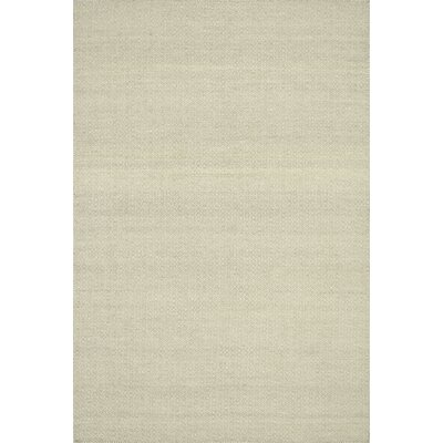 Malcolm Hand-Woven Cotton Beige Area Rug Rug Size: Rectangle 2'3