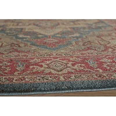 Othello Red/Navy Area Rug