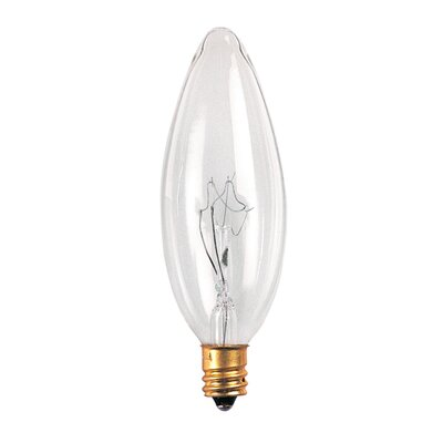 Birch Lane 60 Watt Torpedo Bulb (Set of 47) Wattage: 25W
