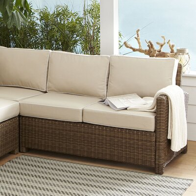 Lawson Left Corner Loveseat with Cushions