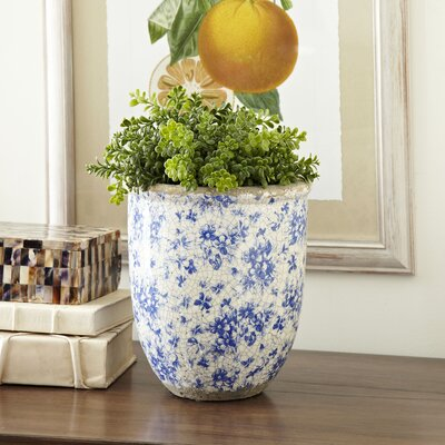Lilibeth Round Chaplin Medium Stoneware Pot Planter