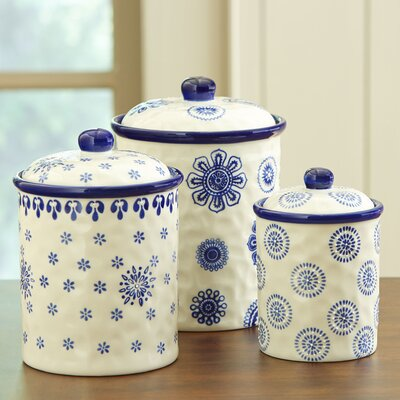 3-Piece Vassar Canisters