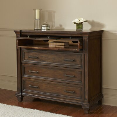 Bartlette 3 Drawer Media Chest