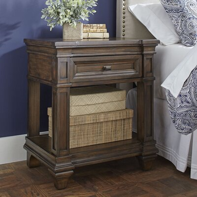 Bartlette Open Nightstand