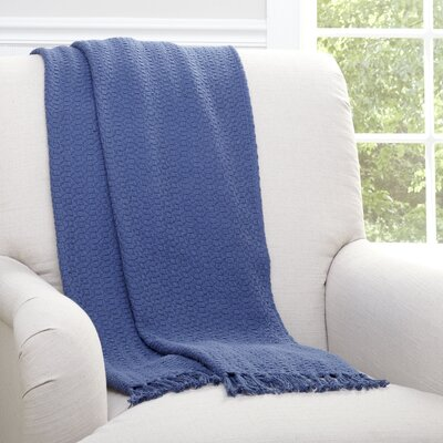 Arietta Throw Color: Navy