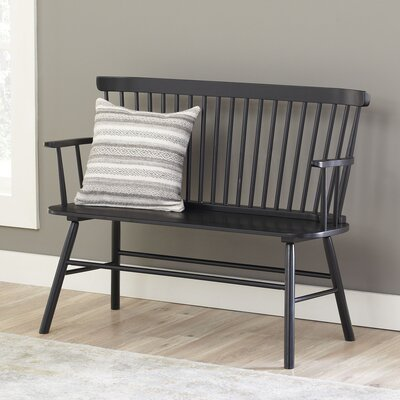 Dane Bench Color: Black