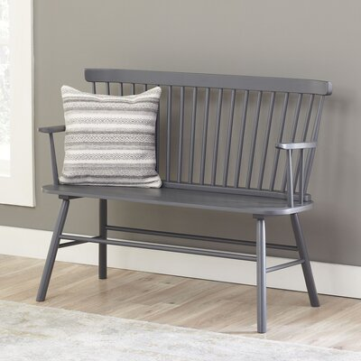Dane Bench Color: Grey
