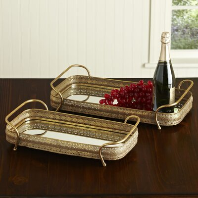 Samuel Mirrored Tray