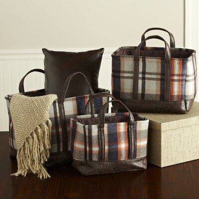 Chalet Plaid Baskets
