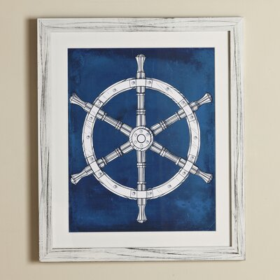Wheel Yacht Club Framed Print