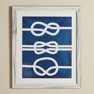 Knots Yacht Club Framed Print