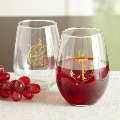 Admiral Stemless Wine Glasses