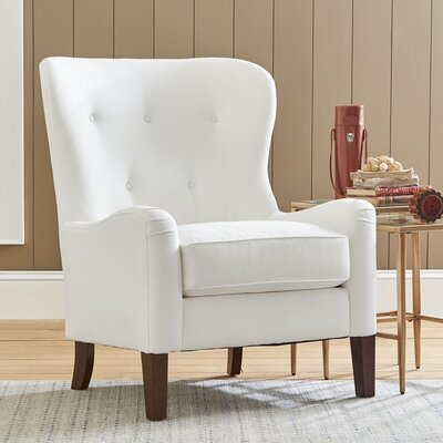 Gilliam Armchair Upholstery: Classic Bleach White