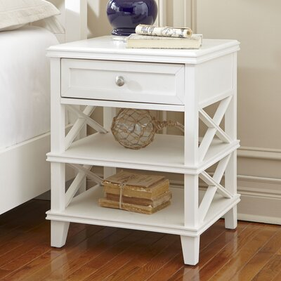 Potter Nightstand Color: White