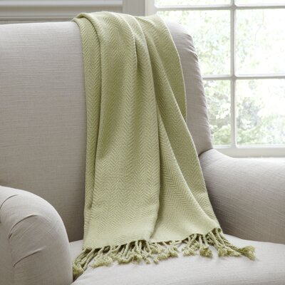 Greenhalgh Throw Color: Green