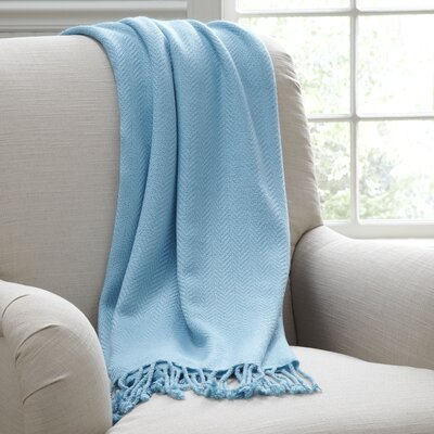 Beatrice Throw Color: Blue