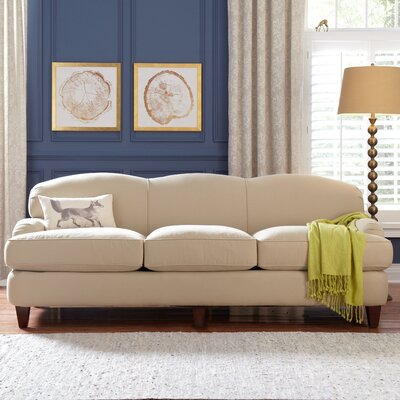 Cheshire Sofa Upholstery: Belsire Chocolate