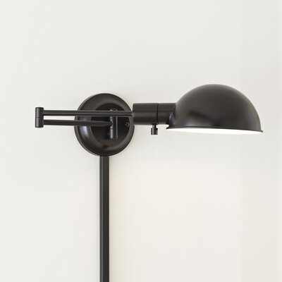 Amity Swing-Arm Wall Sconce Base Finish: Oil Rubbed Bronze
