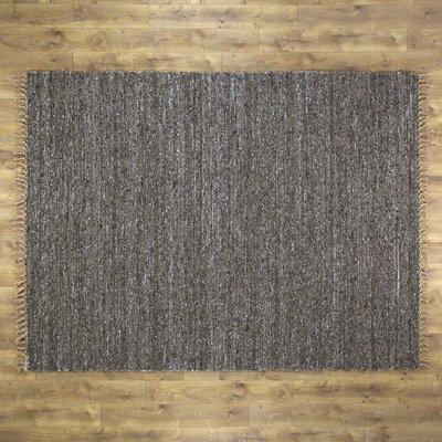 Brogan Hand-Woven Brown Area Rug Rug Size: 710 x 104
