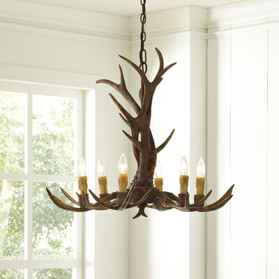 Ludlow 6-Light Candle-Style Chandelier
