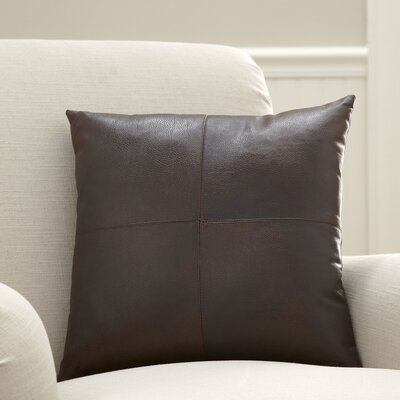 Custer Vegan Leather Pillow Cover