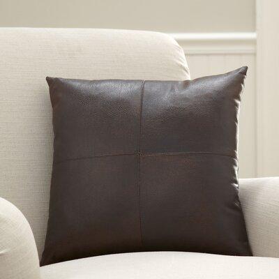 Custer Vegan Leather Pillow Cover