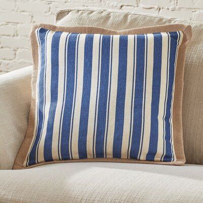Denison Jute Trim Pillow Cover