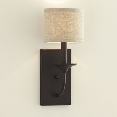Kipling 1-Light Armed Sconce