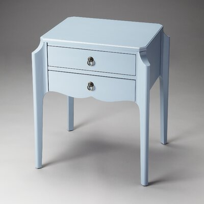 Blythe Side Table Finish: Glossy Wedgewood