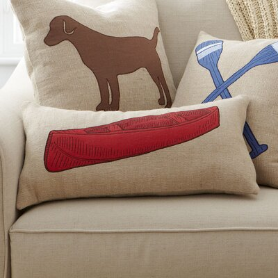 Canoe Lakeview Pillow Cover