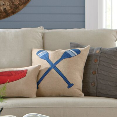 Oar Lakeview Pillow Cover