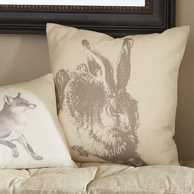 Meadow Hare Pillow