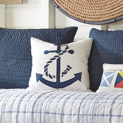 Anchor Fleet Pillow Cover