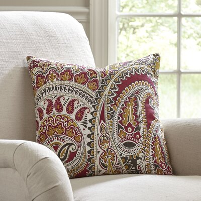 Hampstead Paisley Pillow Cover