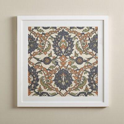 Victorian Paisley Framed Print I