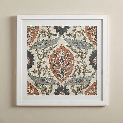 Victorian Paisley Framed Print III