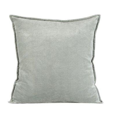 Vienna Cotton Pillow Cover Size: 20 H x 20 W x 1 D, Color: Teal