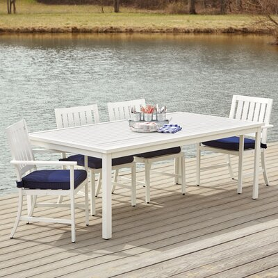 Riveria 7-Piece Dining Set with Cushions