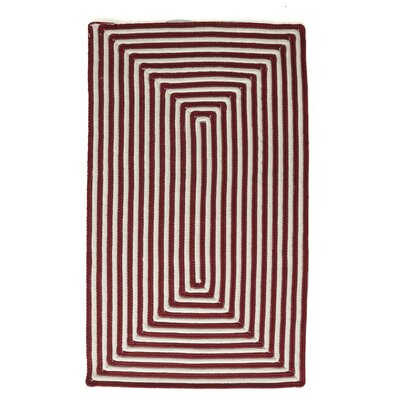 Marcelina Red Indoor/Outdoor Rug Rug Size: 36 x 56
