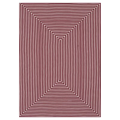 Marcelina Red Indoor/Outdoor Rug Rug Size: 76 x 96
