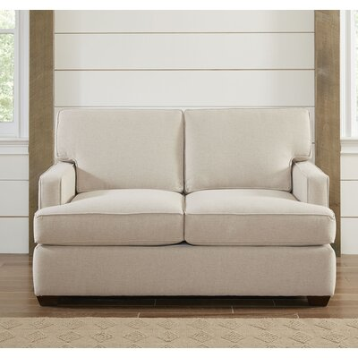 Evanston Loveseat Upholstery: Spinnsol Natural