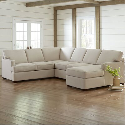 Evanston Sectional Upholstery: Bayou Coffee
